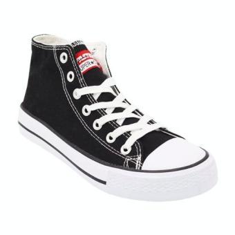 Harga Faster Sepatu Sneakers Kanvas Wanita 1603 04 Hitam Putih Terbaru klik  gambar. 39aac2d3ee