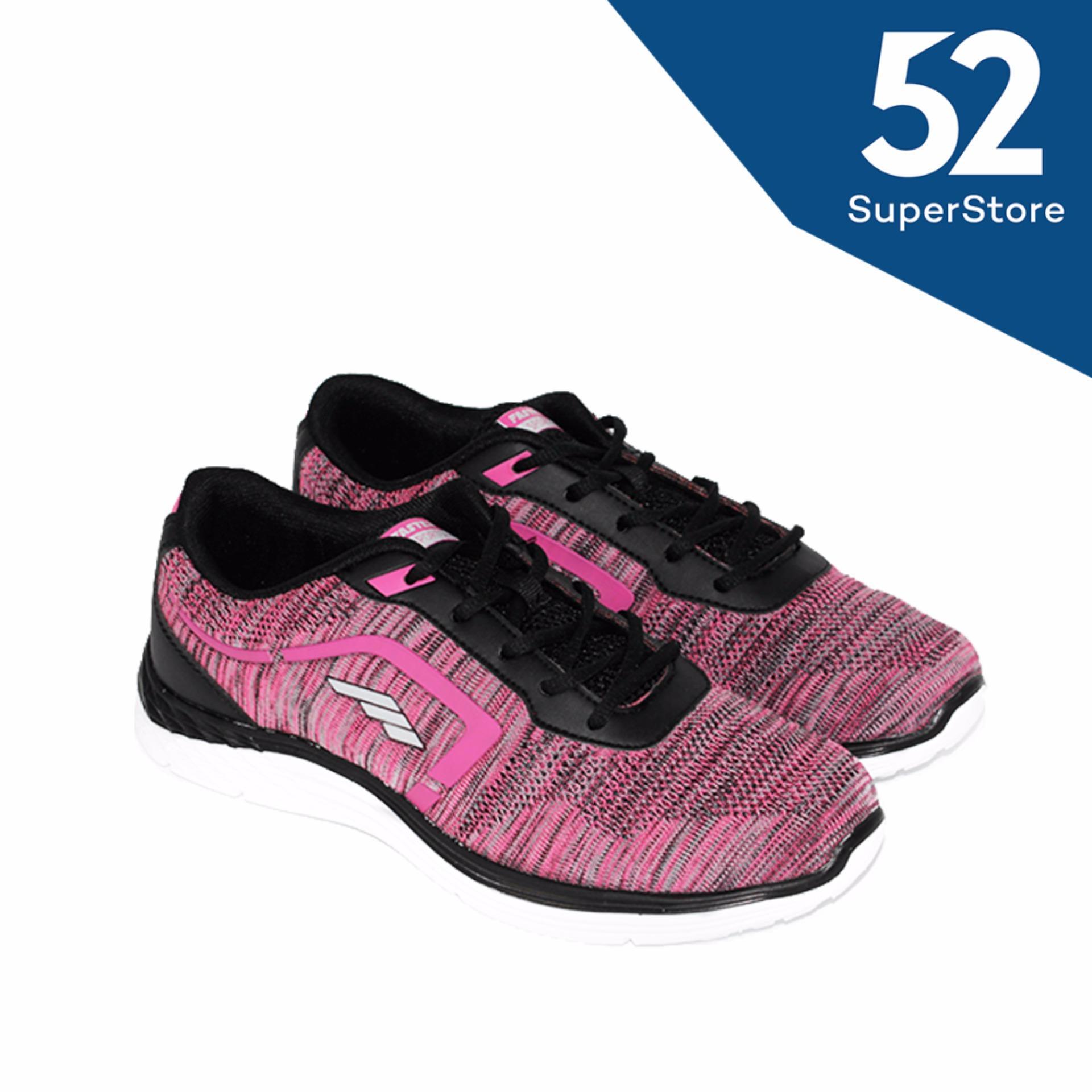 Faster Sepatu Kanvas Wanita 1603 06 Merah Muda Putih Daftar Update Source · Faster Sepatu Sport