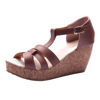 Sandal Heel Wanita. Sandal Wedges
