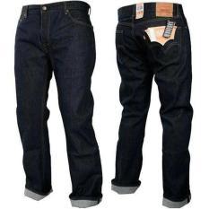 FG Celana Jeans pria high quality - Blueblack