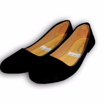 Flat Shoes Develop 21- Sepatu Balet - Hitam
