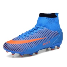Football Men Outdoor Football Shoes Top Quality Training Grass LawnSoccer Shoes  Soccer Sneakers - intl 95a2134866