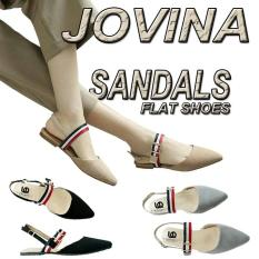 FS05 JOVINA Sandal flat shoes wanita korea Indonesia 2d1d7aaa96