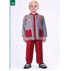 Garsel Fashion Baju Setelan Muslim Anak Laki-Laki FWR 0750 - ABUKOM Bahan cotton