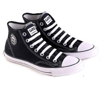Garsel L085 Sepatu Sneaker / Sekolah Pria - Synth - Keren (Hitam)