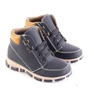 Garsel L227 Sepatu Boots Balita Laki-Laki - Synth - Keren (Hitam)