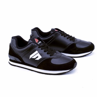 Garsel Sepatu Olahraga / Running Shoes Pria TMI 1051 Bahan Suede Leather - Synth