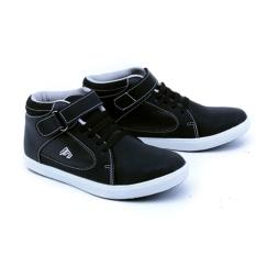 Garsel Sepatu Sekolah Anak Casual Sneakers GDA9508 - Hitam