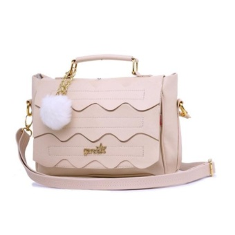 Garsel Tas Top Handle Branded Saviano Sosialita FAT5213 - Cream