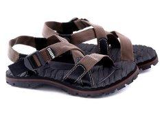 Garucci GSG 3080 Sandal Gunung/Hiking Pria (Coklat Kombinasi)