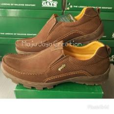 Harga Penawaran GATS SHOES Sepatu Kulit Pria To 2201 Hitam Anggaran ... e86812bbd7