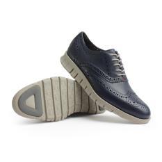 Gino Mariani Men's Shoes Leather Zenon - Navy
