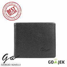 Giorgio Agnelli - Dompet Kulit Pria - Hitam - Kulit Asli - GA Milling 01 Black