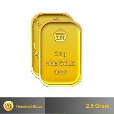 Gold - Emas 2.5 Gram - Logam Mulia 999.9 Sertifikat Antam -
