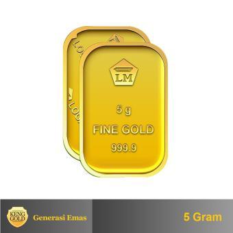 "Gold - Emas 5 Gram - Logam Mulia 999.9 Sertifikat Antam - ""Authorized Seller"""