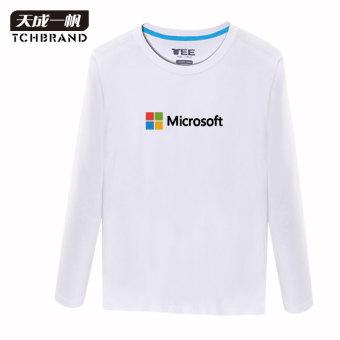 Jual google korea musim gugur lengan panjang pria for Google t shirt online