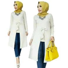 Grateful Fashion Tunik Becca 2 - Broken white - Best Seller