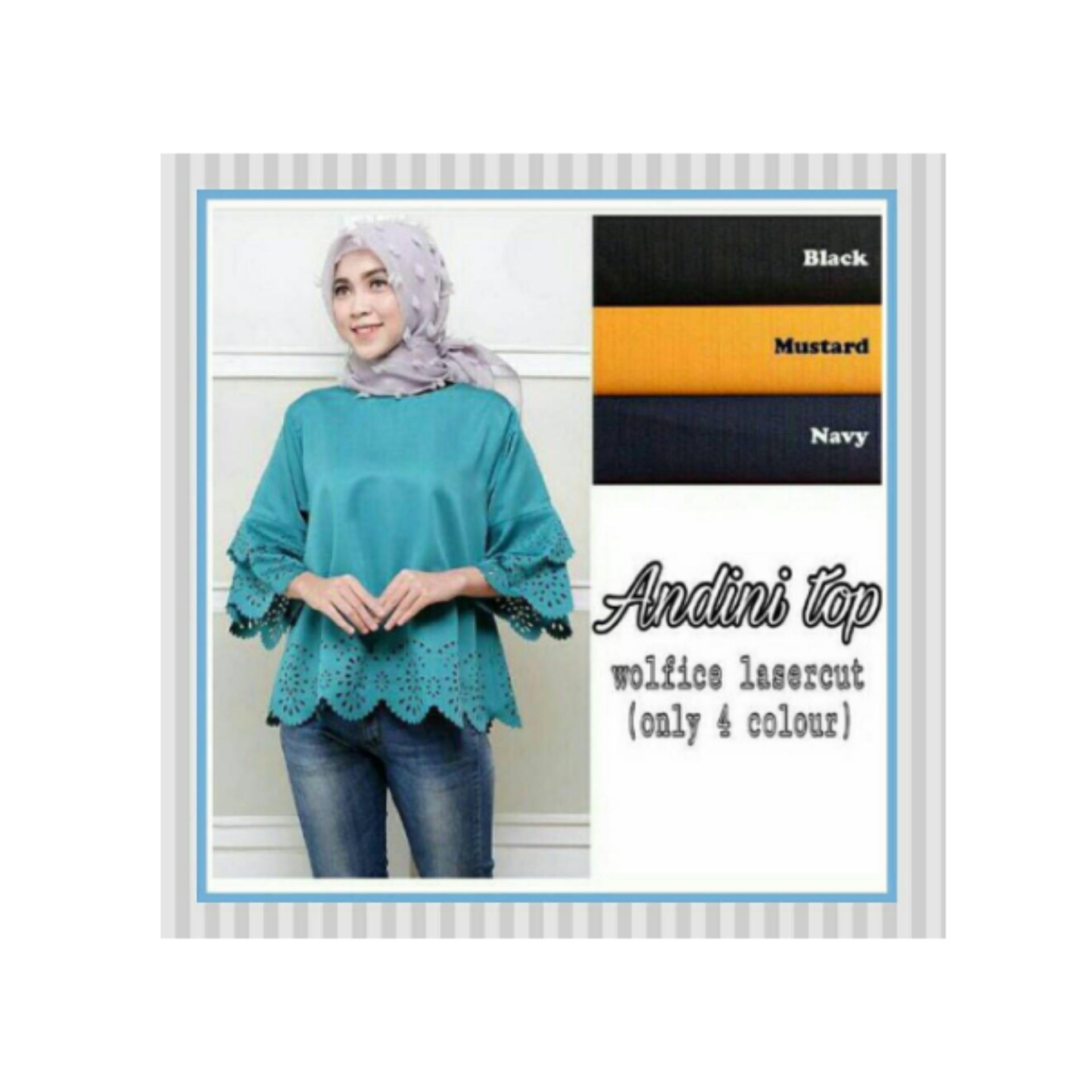 ... Maxi Fashion Baju Wanita Narcissus Syari Dapat Jilbab. Source · Flash Sale Grosir Baju Atasan Muslim Wanita Hijab Murah dan Terbaru / AndiniTop