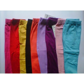 harga Grosir legging Polos anak 6-8 tahun  premium  -3 pcs Lazada.co.id