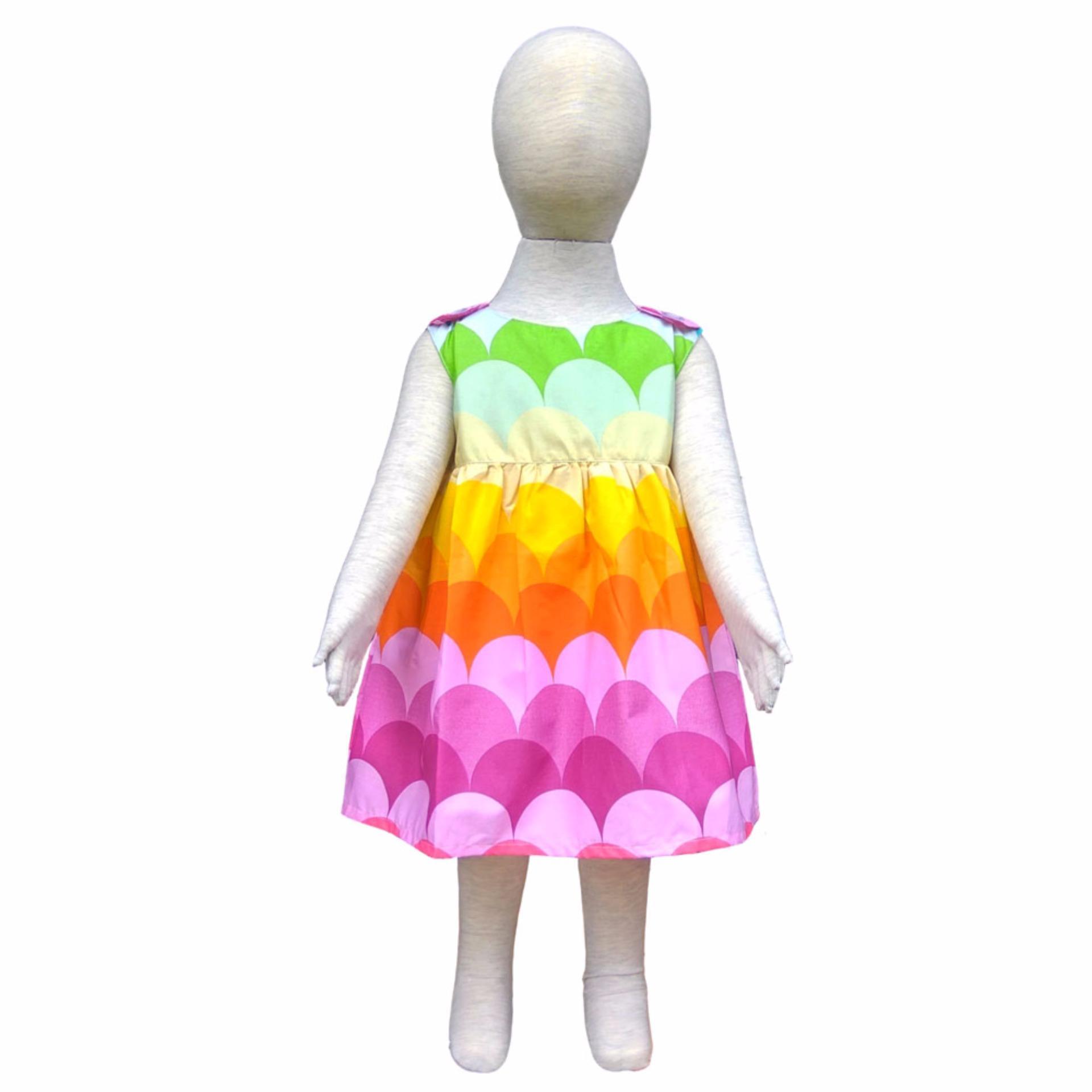 Grow Baju Gaun Harian Anak Simply ( Grow Gown Dress Clothes Simply Child ) Ombak