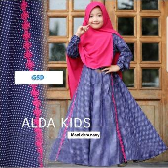 GSD-Baju Gamis Anak/Baju Muslim Anak/Baju Anak Cewek/Baju Anak
