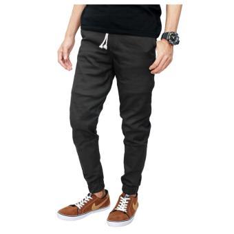 Gudang Fashion - Celana Jogger Keren Panjang - Abu