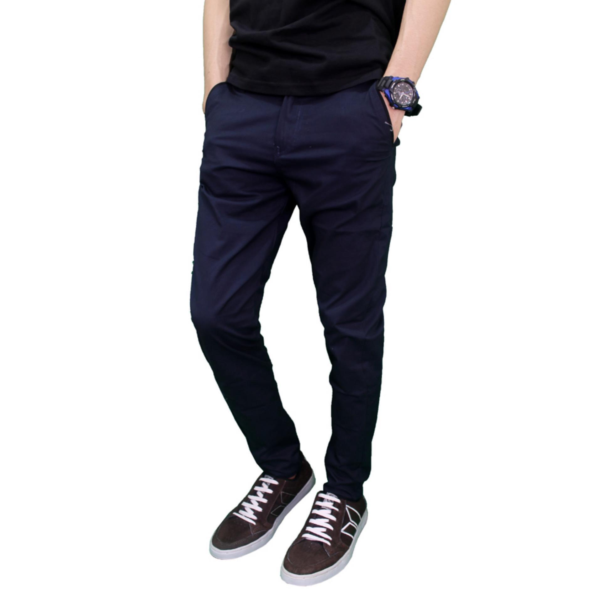 Gudang Fashion Celana Saku Tempel Jeans Dongker Daftar Harga Jogger Panjang Pria Denim Raf 07900900 Navy 32 Jual Terbaru Lazada Co Id Source