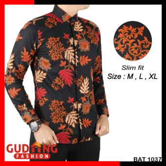 Gudang Fashion - Kemeja Batik Casual Pria Modern - Kombinasi Warna