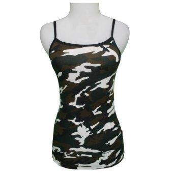 Jual Yoorafashion Tank Top Wanita Plain Basic Tanktop Hitam Harga Source · Gudang Fashion Tank Top