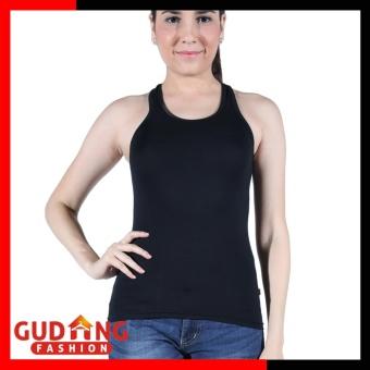 Gudang Fashion - Tank Top Terbaru Wanita - Hitam