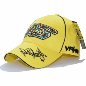 Hanyu outdoor olahraga bisbol topi Snapback tulang topi Hip Hop indah bordir VR46 topi motor Hat