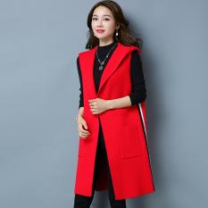 Harajuku musim gugur baru Korea Fashion Style merajut kemeja (SS8170 merah)