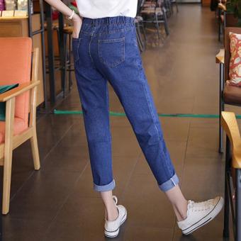 Harga Harem Pants Longgar Kaki Tipis Secara Signifikan Celana Jeans