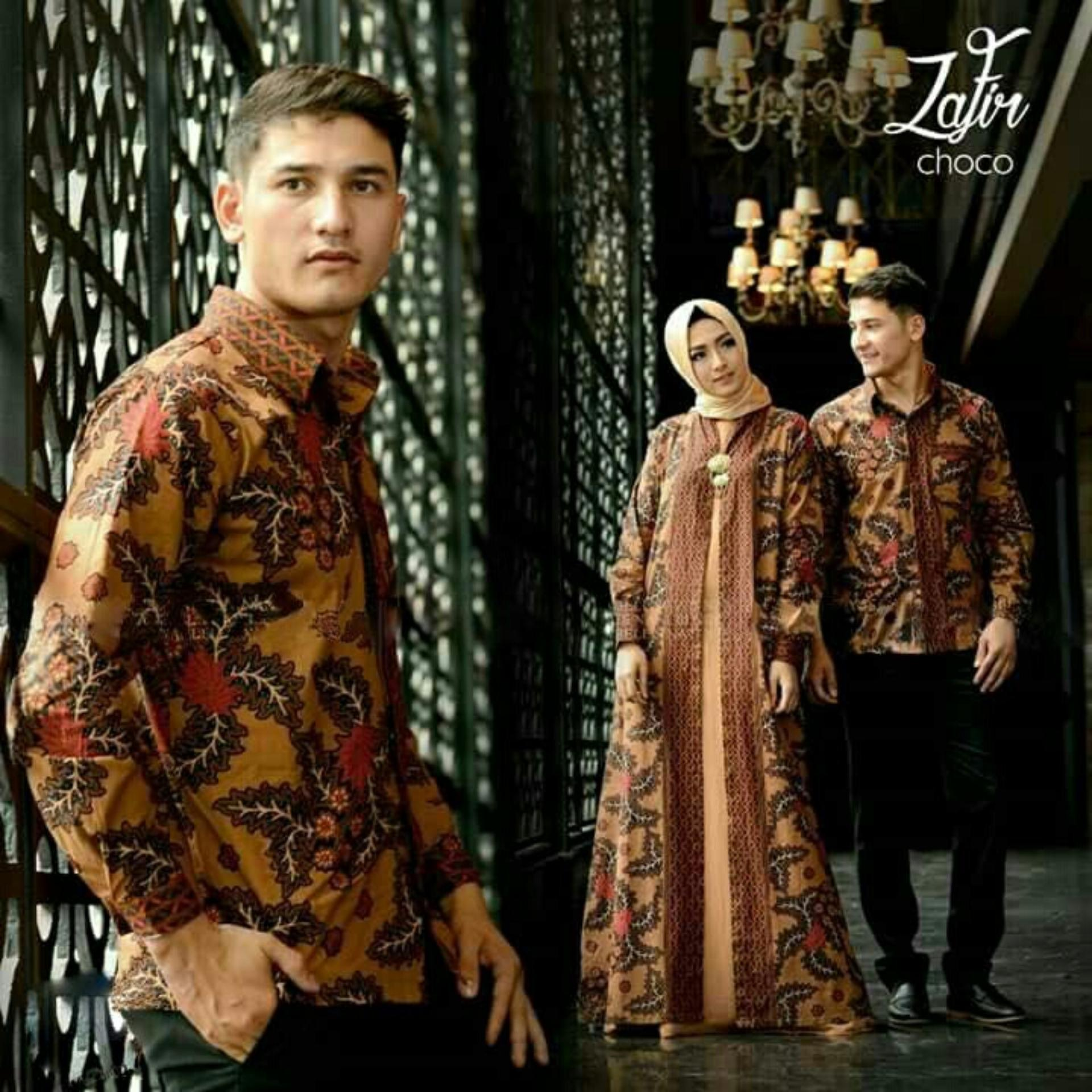 Perbandingan Harga Hasanah Couple Gamis Zafir Coklat Couple Suami