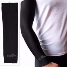 Hi Cool Arm UV Protection Cover Sarung Pelindung Lengan Anti Panas Outdoor Adventure Motor s0325 - Black