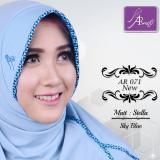 Detail Gambar Hijab Instan Arrafi Veena [warna Med Pink] AR71N kerudung jilbab bergo Terbaru