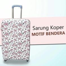 ... Hitam Source · Hot Promo Sarung Pelindung Koper Luggage Motif 20 24 28 Size S Murah Promo Sale