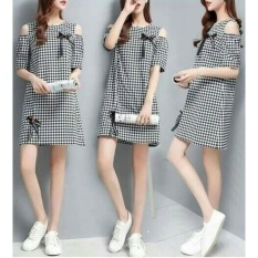 Hoziro - Atasan Dress Mini Wanita Janice