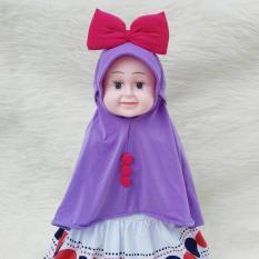 HQo Kerudung Anak Bayi Minnie Mouse / Jilbab Anak Bayi / Jilbab Bayi / Hijab Pashmina Instan Anak