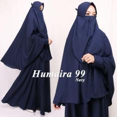 Humaira99 Gamis Syari Cadar Dress Atasan Wanita Muslimah