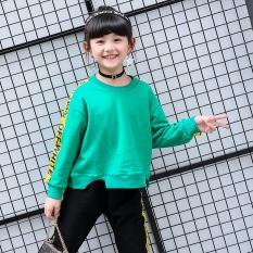 I Korean-style autumn New style big kid two piece suit (Hijau)