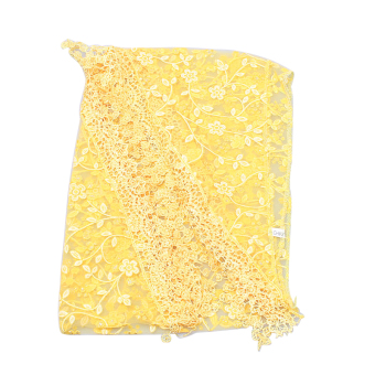 Harga Fang Fang Long Scarf Wrap Shawl (Yellow)