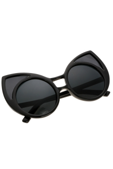 Harga Vintage Cat ears Shape Sunglasses (Black)