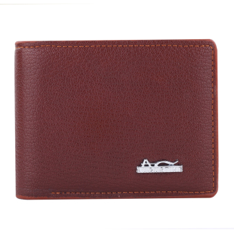 Harga Augustine Maxima Grain Leather Wallet - Brown