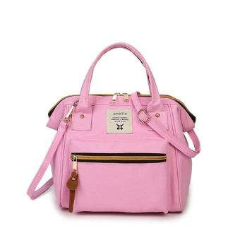 Harga Anello Japan 3 Ways Mini Hand bag & Shoulder Bag - Pink