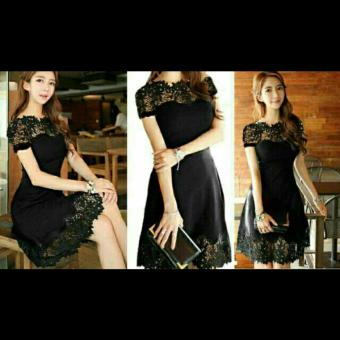 Harga Chakie store Molly dress Black cv