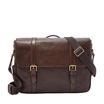 Harga Fossil Estate Messenger Java Dark Brown - MBG9003201