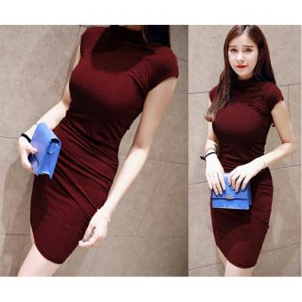 Harga Dress Olivia Maroon