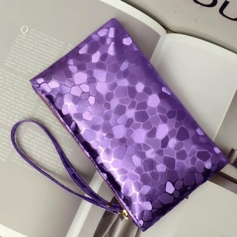 Harga JOY Fashion design colors holding parcel (Purple)