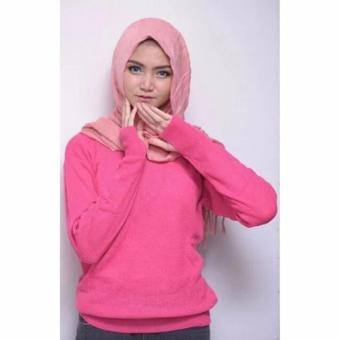 Harga Roundhand Sweater (Pink Berry)
